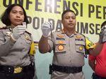Polisi Tembak Buron Kasus Pembobol Rumah Kosong di Palembang