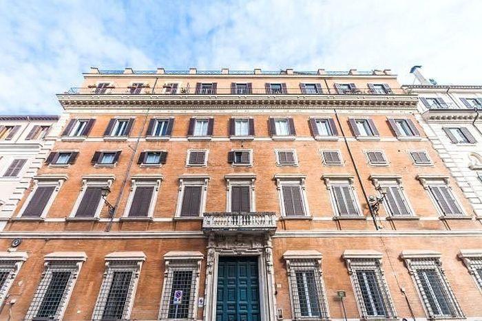Rumah seluas hampir 18.000 kaki persegi ini dikenal dengan sebutan Palazzetto, tak jauh dari lokasi Colosseum bersejarah. CNBC/Istimewa.