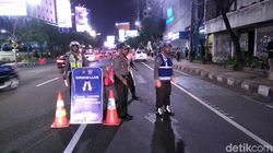 Polisi Kanalisasi Jalan Basuki Rahmat untuk Debat Cagub Terakhir