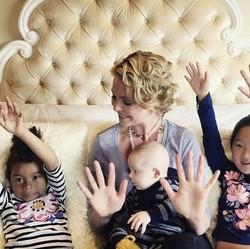 Keseruan Katherine Heigl Habiskan Waktu Bareng Anak-anaknya