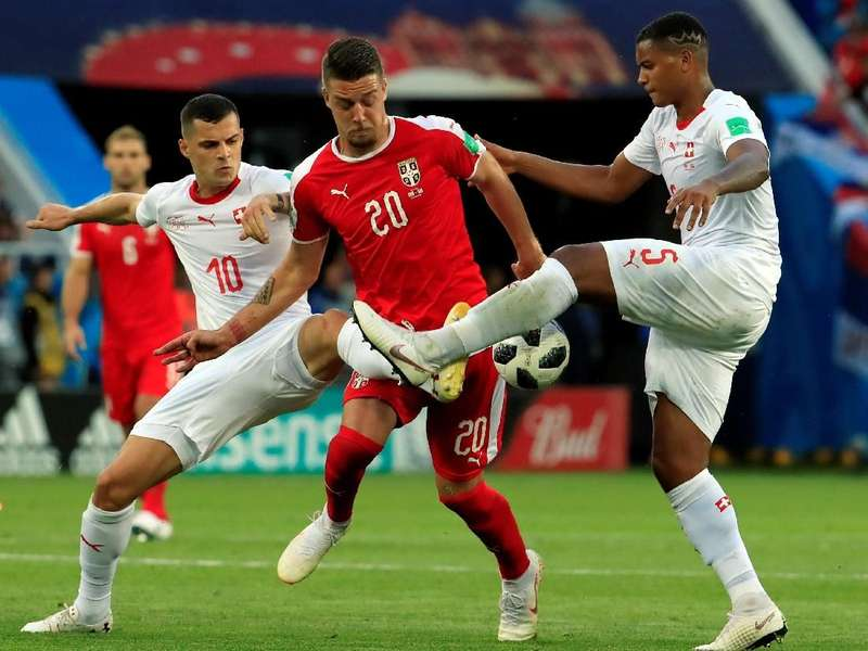 Video Highlights: Serbia Vs Swiss 1-2