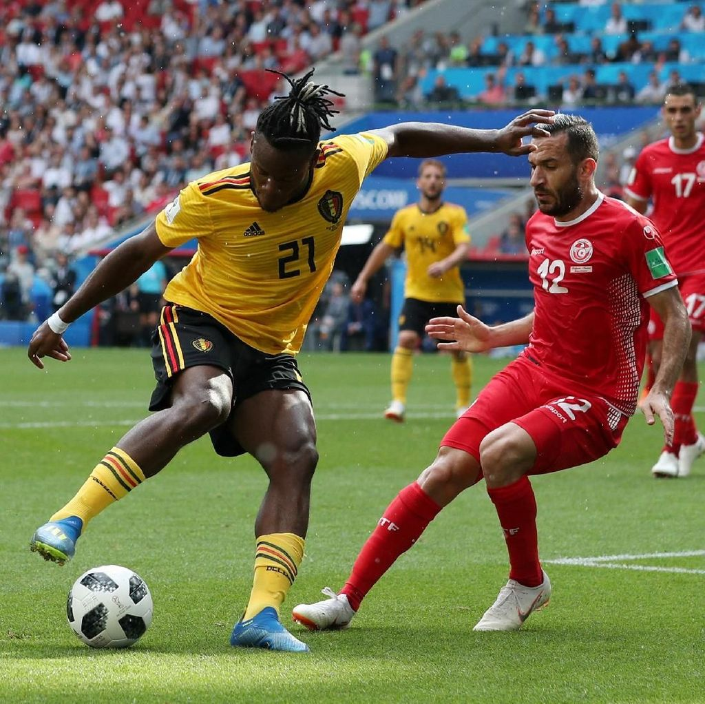 Video Highlights: Belgia Vs Tunisia 5-2