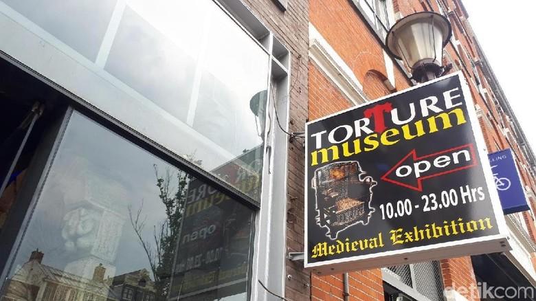 Torture Museum di Amsterdam (Afif Farhan/detikTravel)