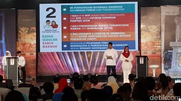Debat Pilgub Jatim Terakhir, PDIP: Gus Ipul-Puti <i>Cool</I>