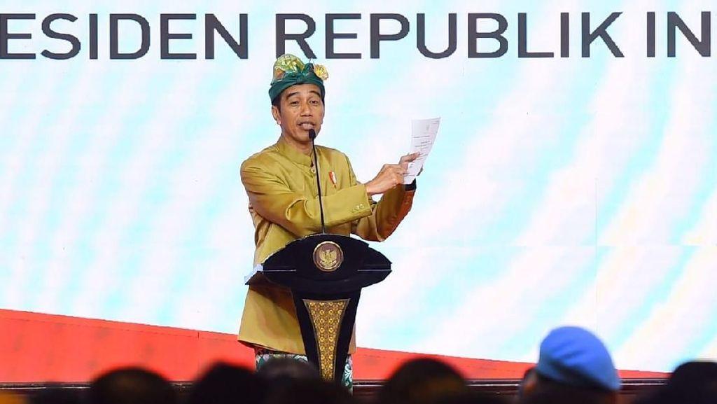Pajak UMKM Jadi 0,5%, Jokowi: Agar Pelaku Usaha Sadar Bayar Pajak
