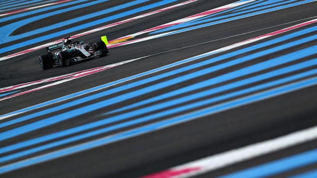 Lewis Hamilton Rebut Pole di Kualifikasi GP Prancis