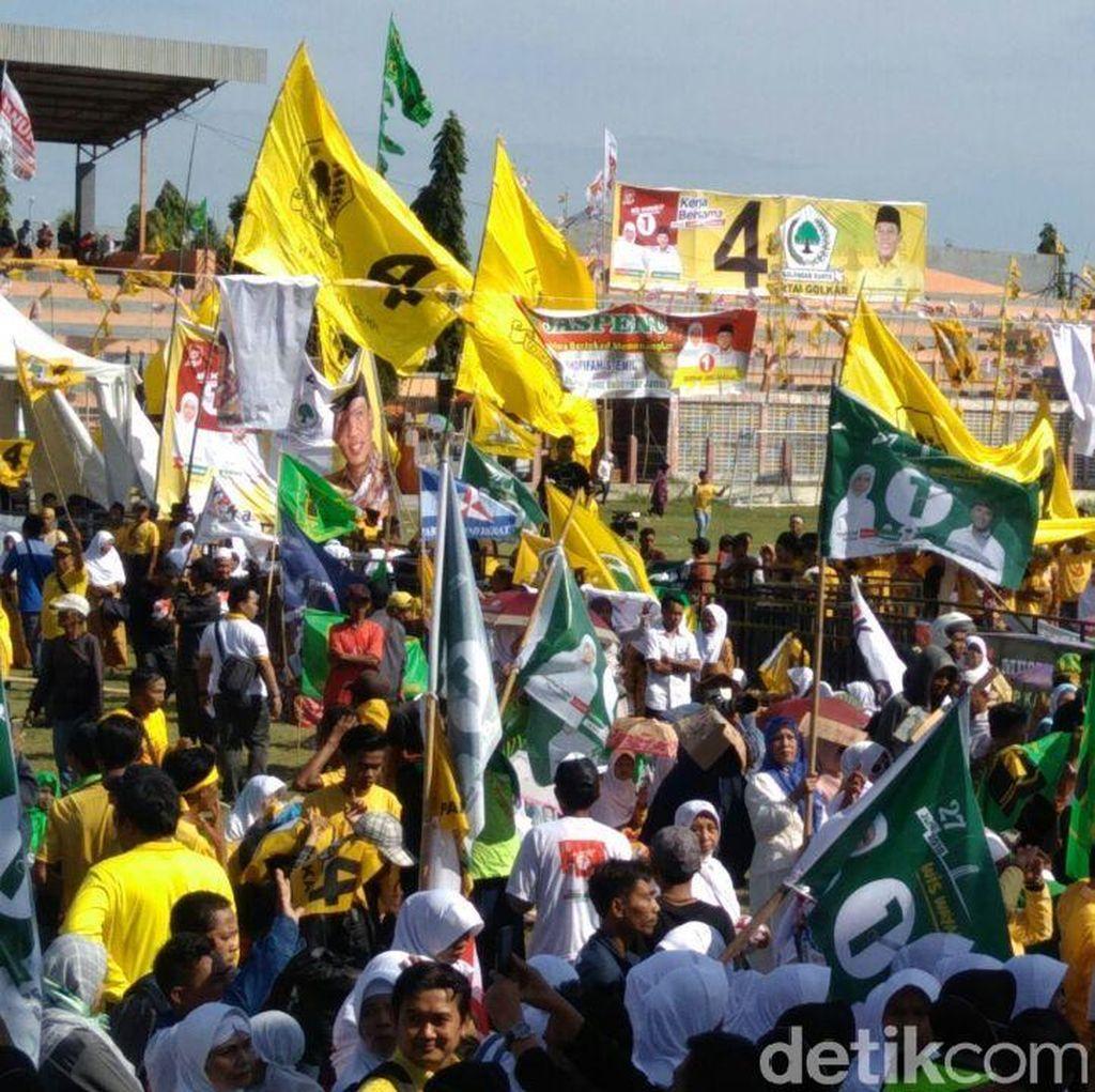 Di Kampanye Akbar, Pendukung Khofifah-Emil Istigasah Kemenangan