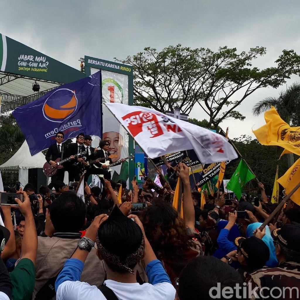The Changcuters Meriahkan Kampanye Akbar Ridwan Kamil-Uu