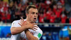 Gol Krusial Shaqiri Penentu Kemenangan Swiss