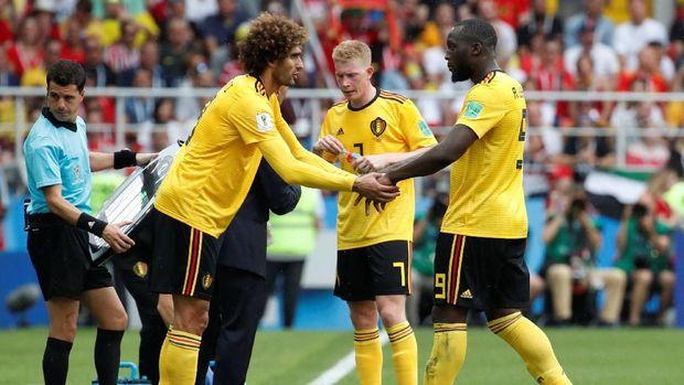 Timnas Belgia menunjukkan diri sebagai salah satu favorit juara di Piala Dunia 2018.
