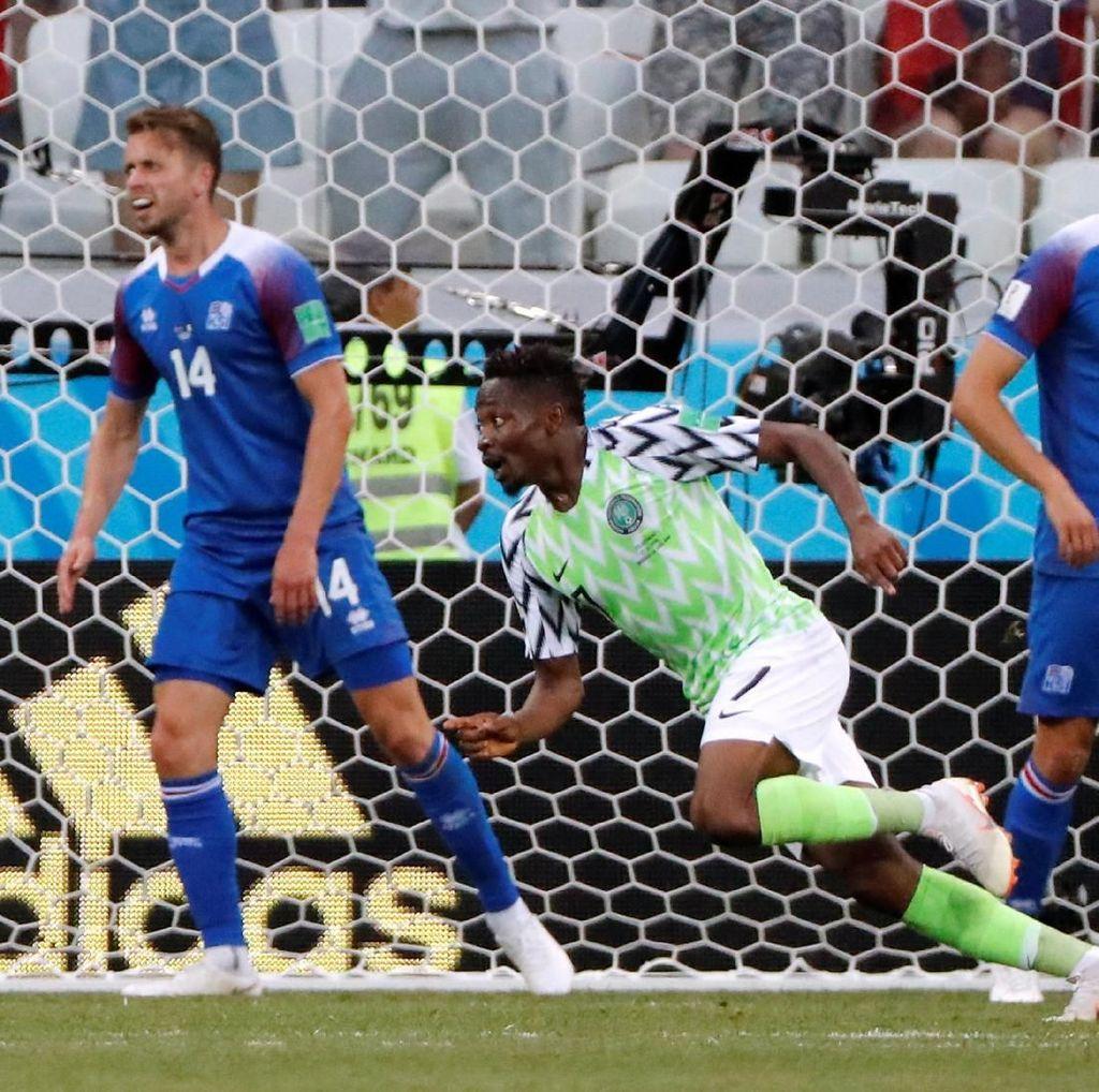 Hasil Pertandingan Piala Dunia 2018: Nigeria vs Islandia Skor 2-0