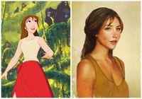 Begini Jadinya Kalau 17 Putri dan Pangeran Disney Jadi Kenyataan