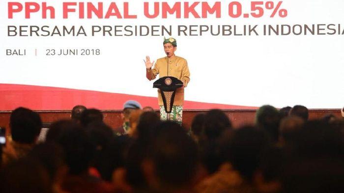 Presiden Joko Widodo (Jokowi)/Foto: Dok. Twitter @DitjenPajakRI