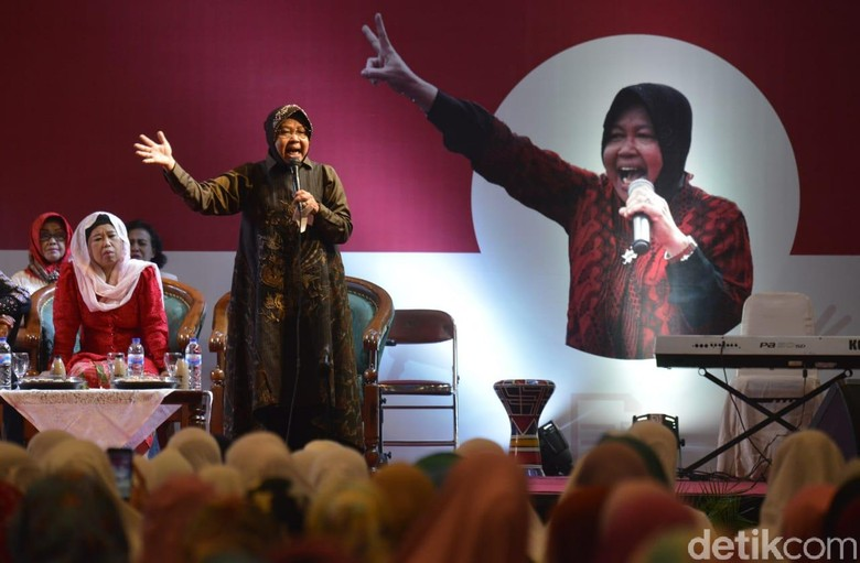 Soal Gus Ipul-Puti, Risma: Keduanya Mendengar Suara Rakyat