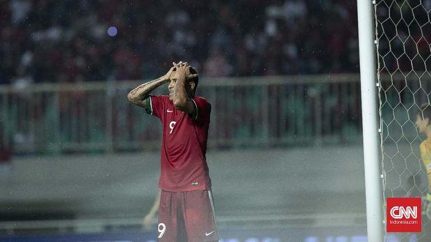 Beto Goncalves rutin mengisi lini depan Timnas Indonesia dalam beberapa bulan belakangan.