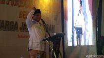 Pakai Slide, Gaya Prabowo Beberkan Data Kondisi Indonesia