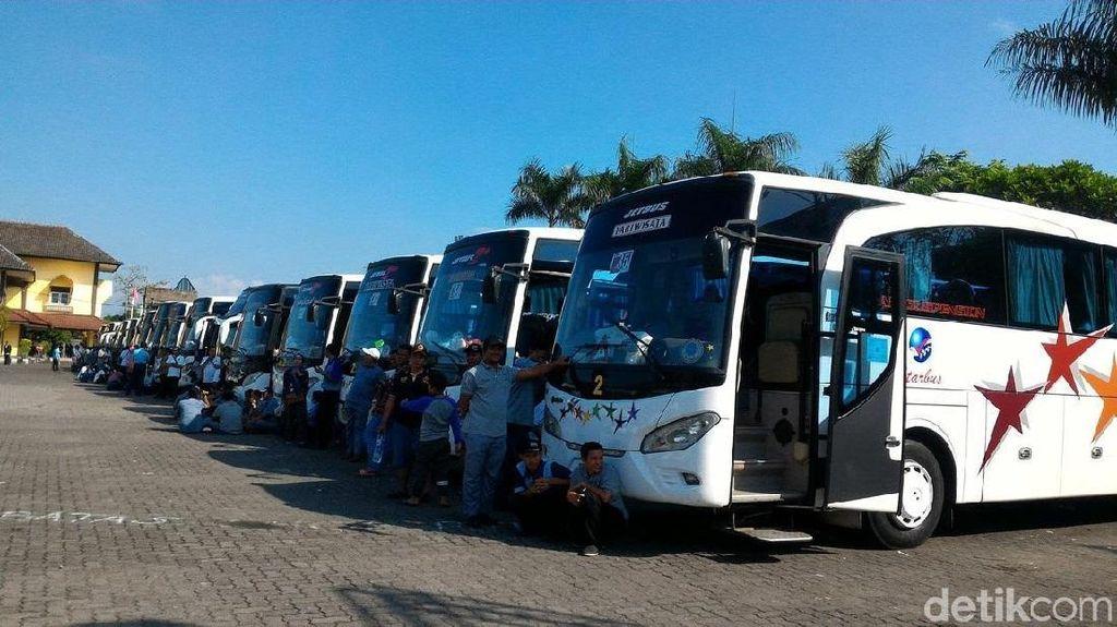 Bus Diprediksi Jadi Favorit Pemudik Lebaran