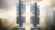 Melihat Calon Kantor Pusat DJI yang Futuristis