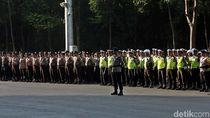 Suasana Apel Pasukan Pengamanan Test Event Asian Para Games 2018