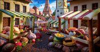 Kreatif! Kota-kota Ini Dibuat Dari Bahan Makanan yang Bisa Dimakan