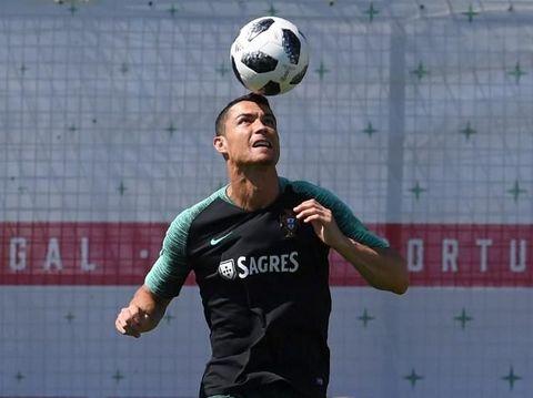 Cristiano Ronaldo Punya Cara Mandi Khusus Usai Tanding Bola