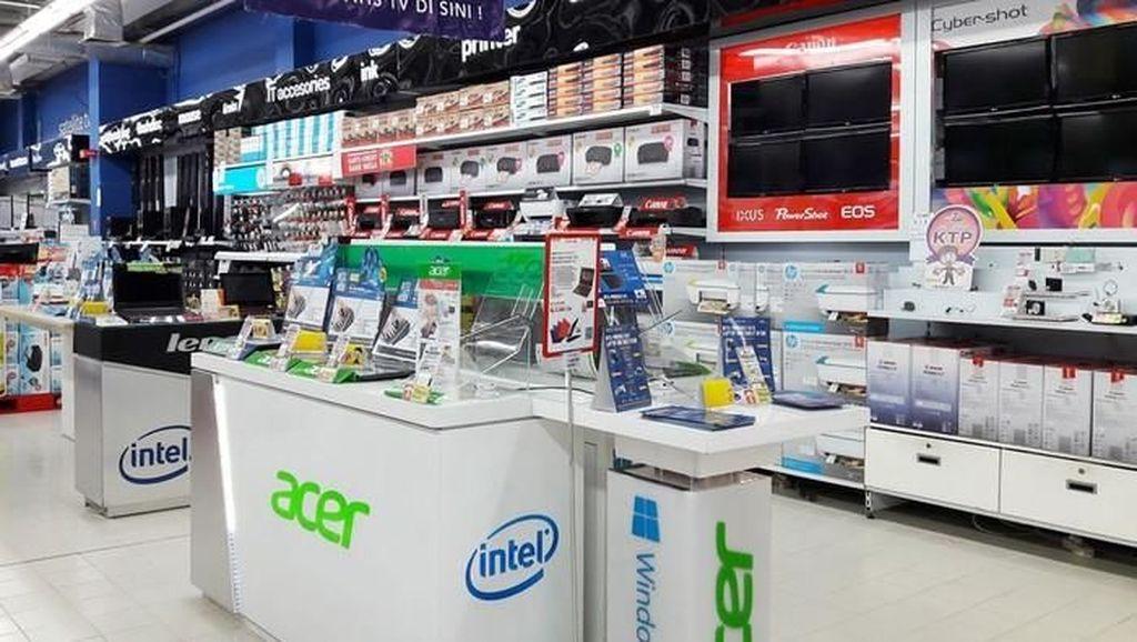 Aneka Laptop Branded Diskon 10% di Transmart Carrefour