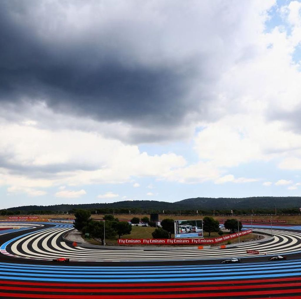 Sesi Latihan Ketiga GP Prancis Diusik Hujan, Bottas Tercepat