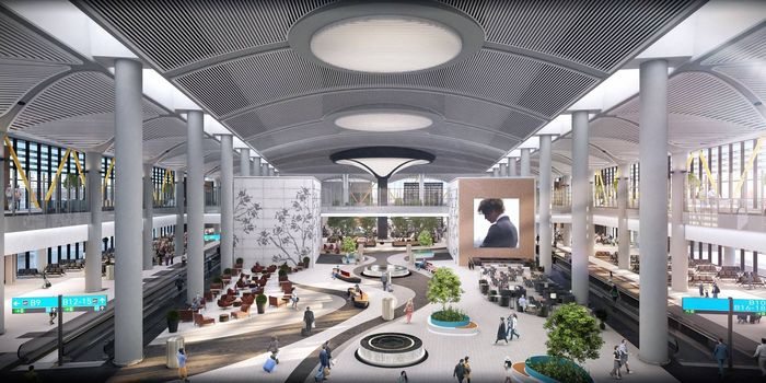 Turki akan punya bandara baru yang dijadwalkan akan beroperasi tahun ini. Bandara itu bernama Istanbul New Airport. Istimewa/FB Sahabat Erdogan.