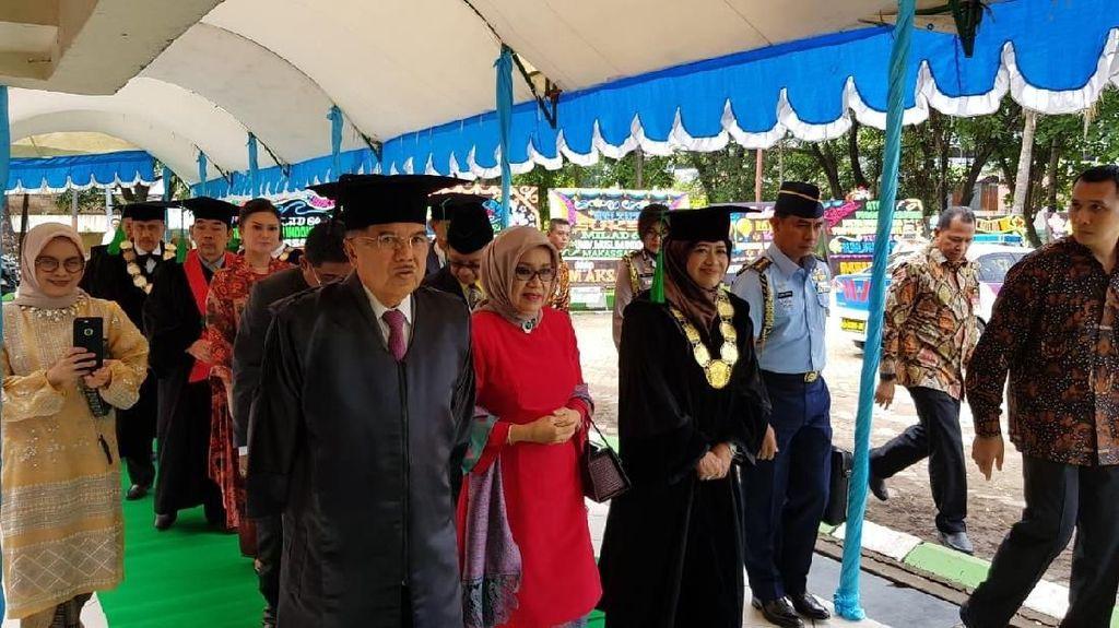 JK akan Terima Gelar Doktor Kehormatan di UMI Makassar