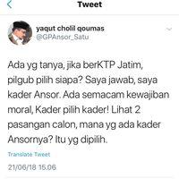 Ketum GP Ansor Beri Sinyal Dukungan ke Gus Ipul: Kader Pilih Kader
