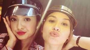 Bibir Merah Raline Shah