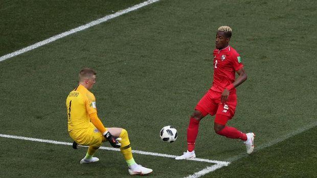 Panama juga punya sejumlah peluang emas saat menghadapi Inggris.