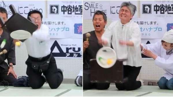 Unik! Di Jepang Ada Kompetisi Membalikkan Meja Teh Terjauh
