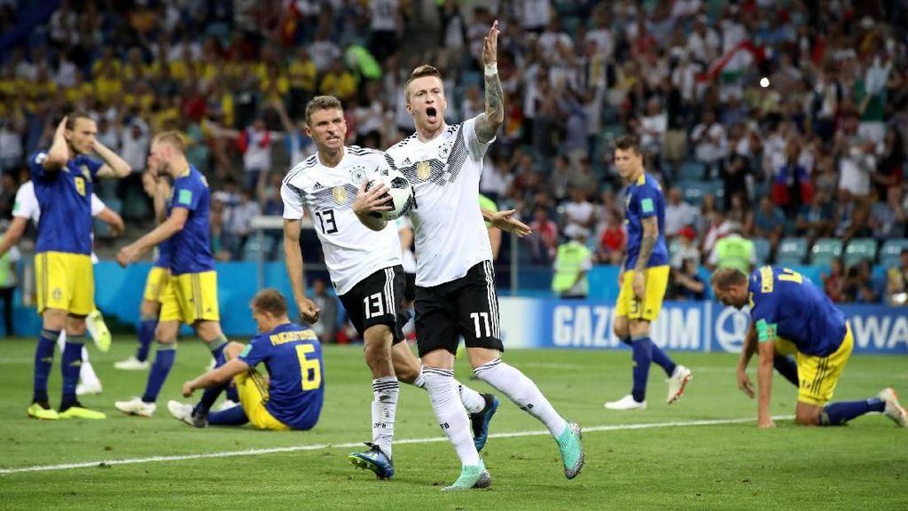 Tak Jadi Tersingkir di Piala Dunia, Jerman Heboh di Medsos