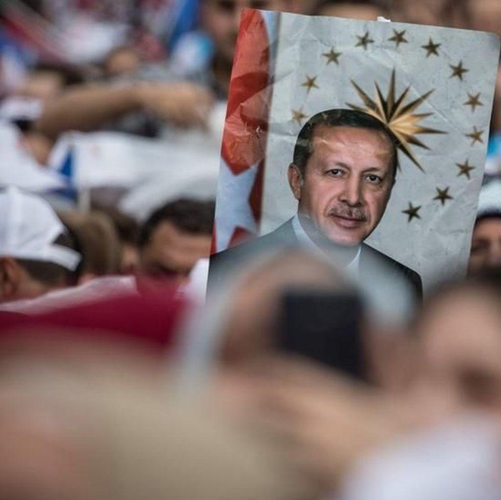 Deklarasikan Kemenangan, Erdogan Minta Hasil Pemilu Diterima