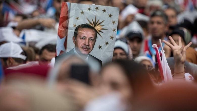 Raup 52% Suara, Erdogan Deklarasikan Kemenangan