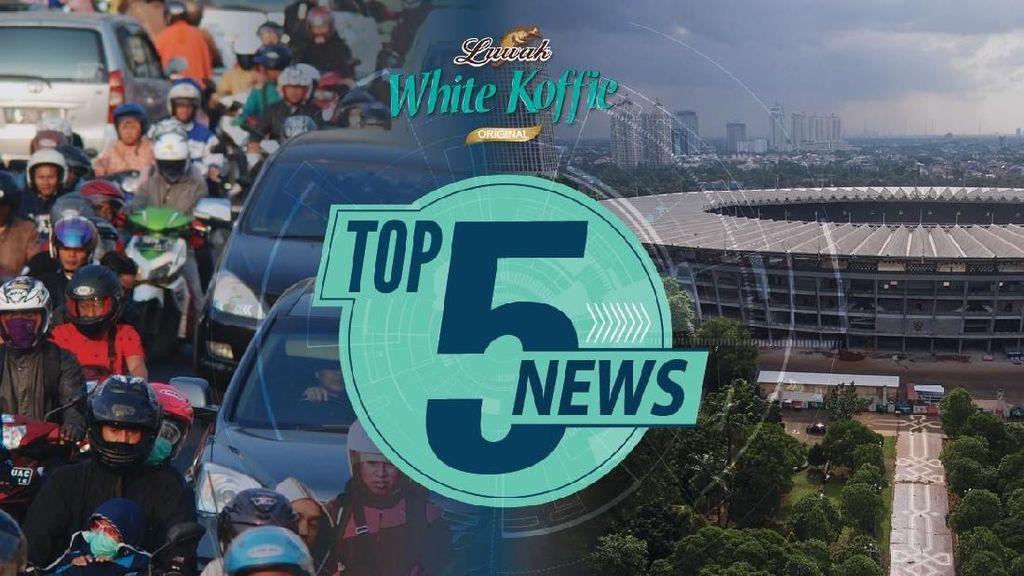 Arus Balik dari Bandung Padat, Renovasi GBK Rampung Juli