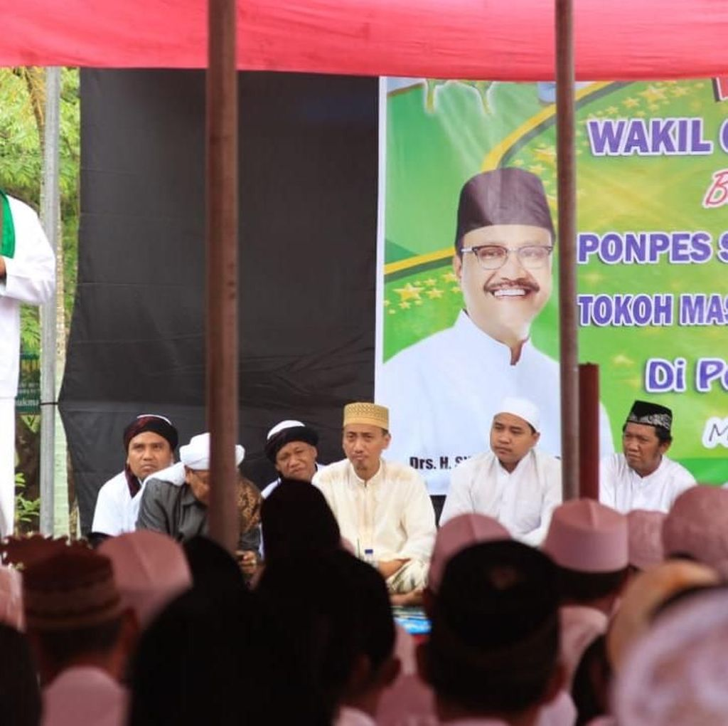 Balik Jadi Wakil Gubernur, Gus Ipul Halal Bihalal di Jember