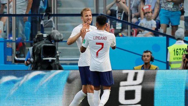 Harry Kane mencetak dua gol melalui titik penalti di laga lawan Panama.