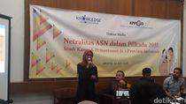 PNS Tak Netral Ditemukan di Pilkada Jabar hingga Maluku Utara
