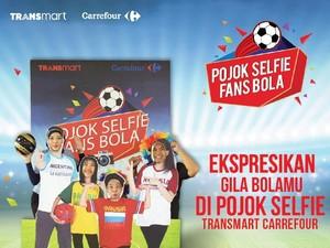 6 Hal yang Jadi Alasan Fans Sepakbola ke Transmart Carrefour