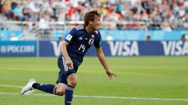 Timnas Jepang tampil jauh lebih baik di 16 menit akhir babak pertama.