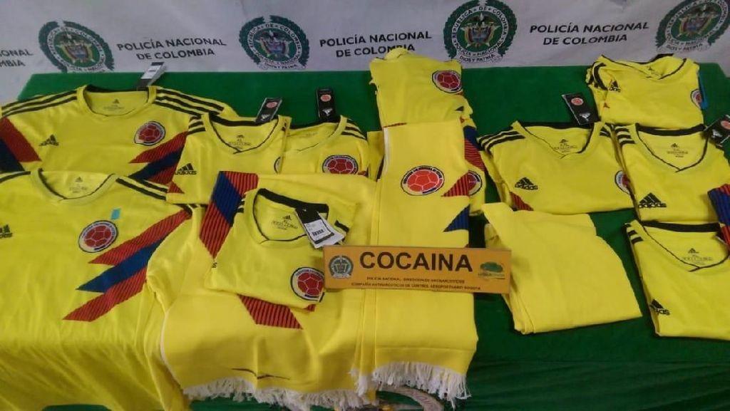 Polisi Sita Jersey Kolombia yang Dicampur Kokain