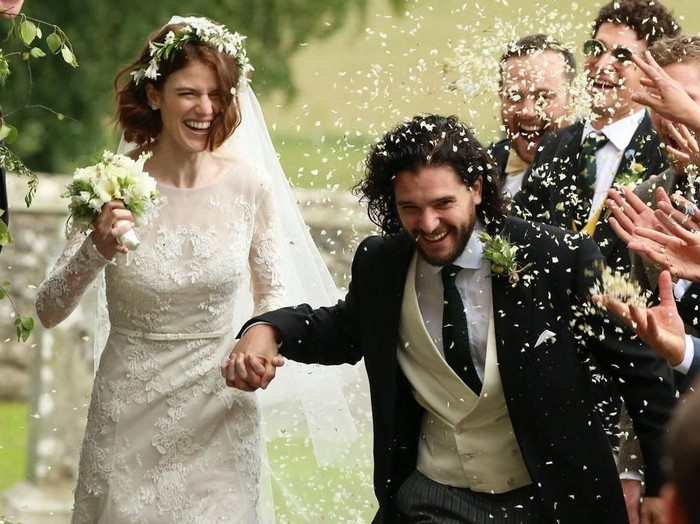 Kit Harington dan Rose Leslie