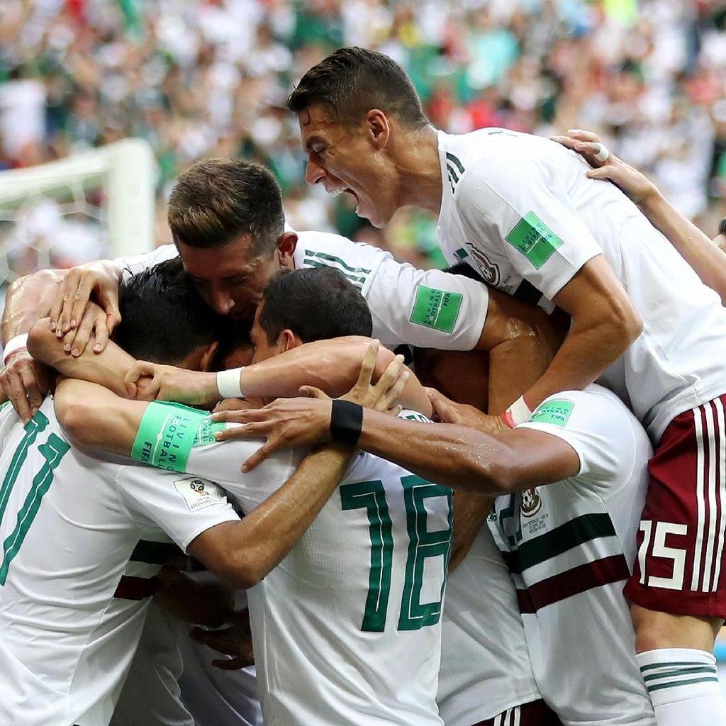 Meksiko Atasi Korsel 2-1