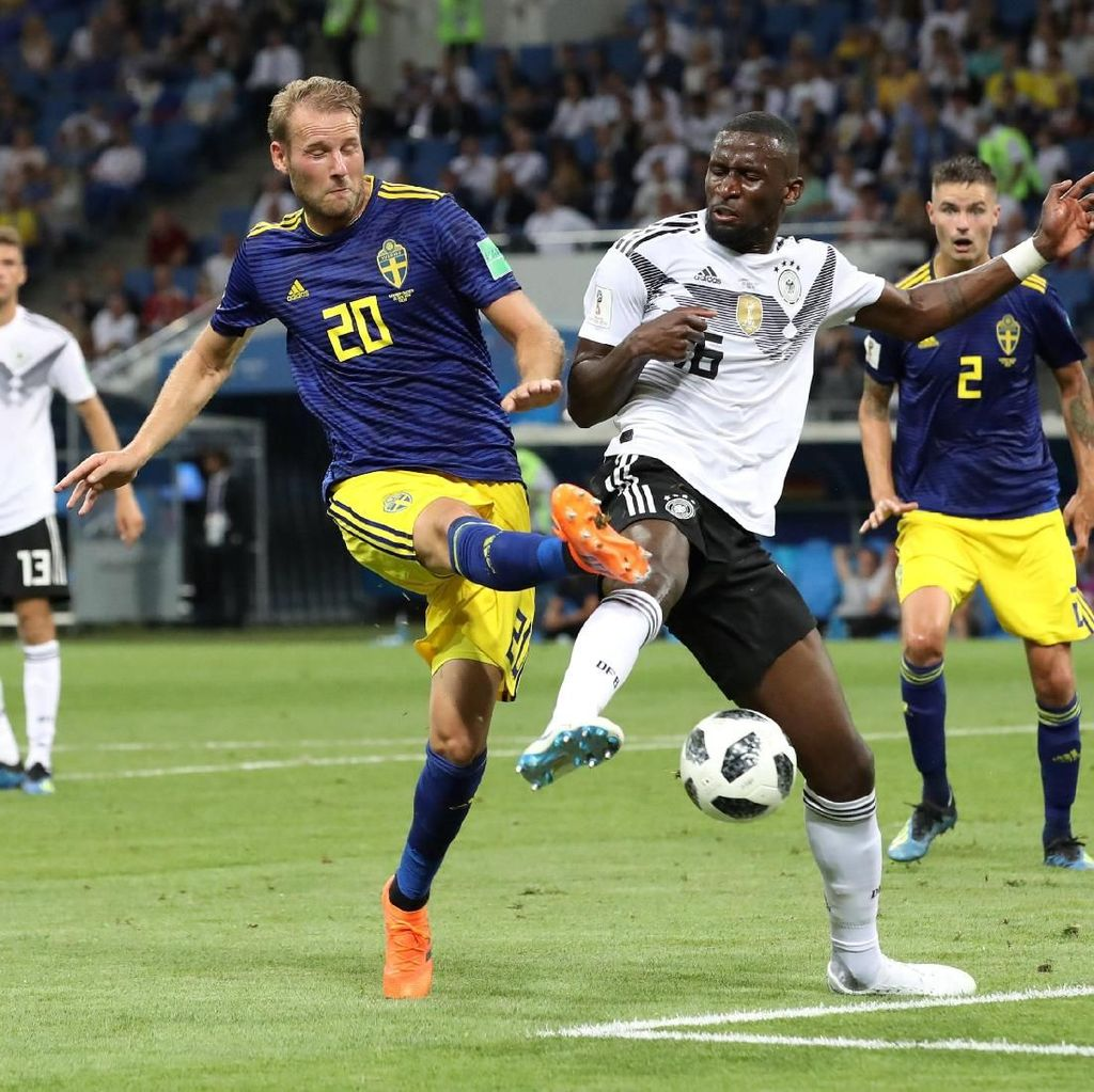 Video Highlights Babak I Jerman Vs Swedia