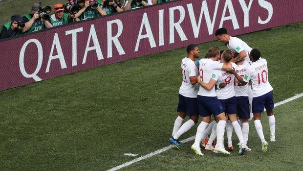 Timnas Inggris dalam kondisi bagus di Piala Dunia 2018.
