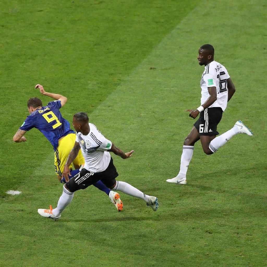 Pelatih Swedia: Kami Pantas Dapat Penalti