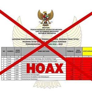 Hati-hati! Beredar Hoax Pembukaan CPNS 2018