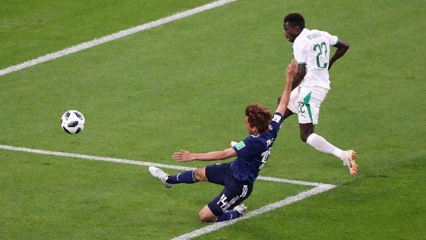 Kegembiraan Senegal atas gol Moussa Wagoue ternyata tak bertahan lama.